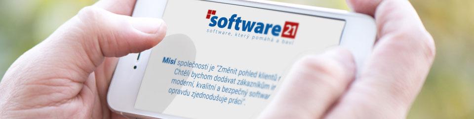 Software 21 - vývoj mobilních aplikací
