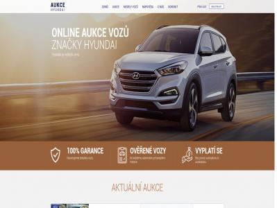 Reference Aukční portál Hyundai